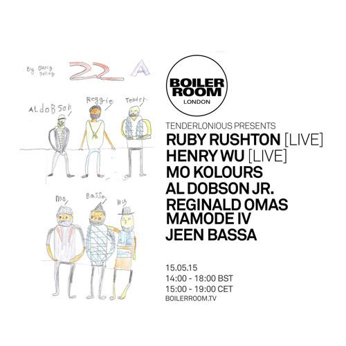 Tenderlonious Presents Ruby Rushton Boiler Room London Live Set