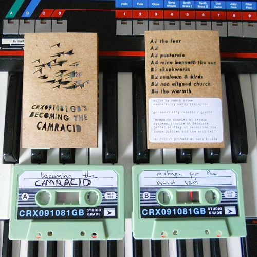 becoming the camracid (C40 cassette out Aug 1)