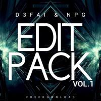 Cover mp3 NPG & D3FAI Edit Pack Volume 1
