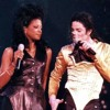 Michael Jackson e Marva Hicks no Concerto em Brunei