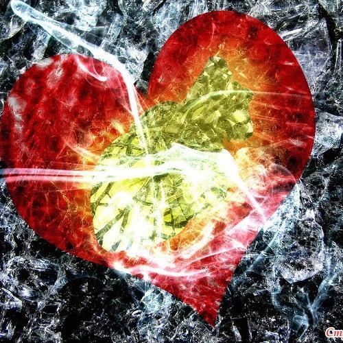 Салат разбитое сердце фото
