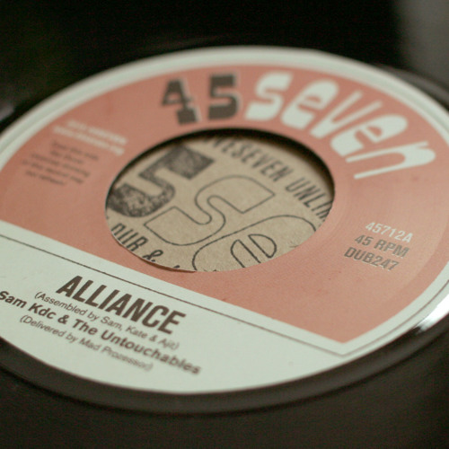 "Sam KDC & The Untouchables - Alliance (45712, 7"", 2015)"