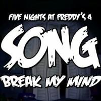 Cover mp3 FNAF 4 (Break My Mind) -DAgames