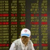 China financial markets, film-'A Pigeon Sat on a Branch' and Greece street art