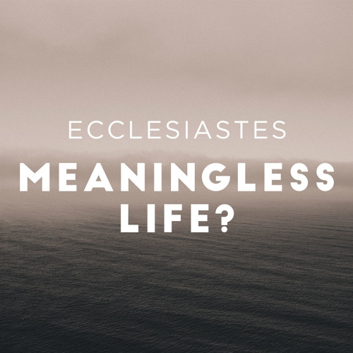 History's Wisest Fool Tells Truth about Everything: Ecclesiastes 1:1-11