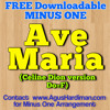 FREE DOWNLOAD MINUS ONE - Ave Maria - Celine Dion (Do=F)