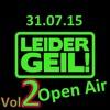 DJ Lukas Live Set @ Leider Geil Open Air Viereck 31.07.15