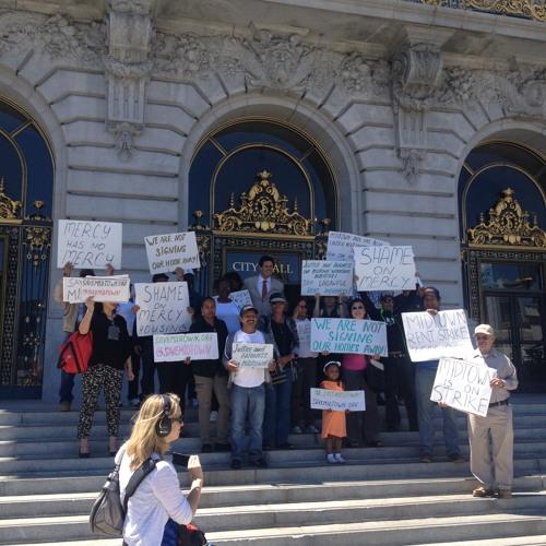 Mission Street Residents Declare Rent Strike