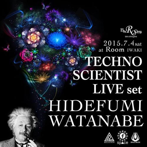 TECHNO SCIENTIST(LIVE Set)at Room