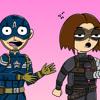 Sebastian Stan sings karaoke as Bucky