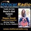 Maggie Baugh - Boca's Got Talent - Interview - August 2015