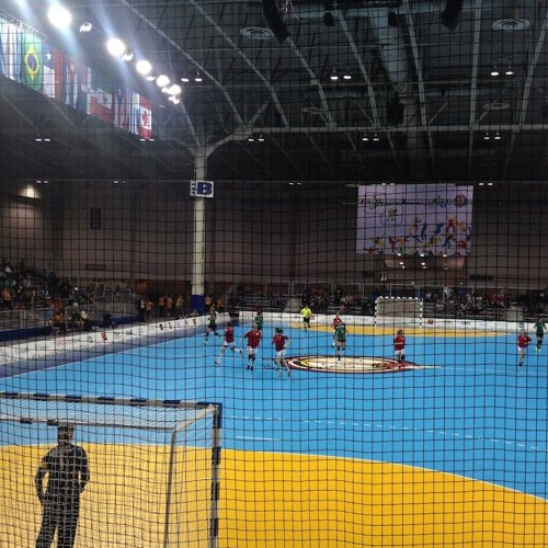Pan Am Games Women's Handball Game - gameplay with chants, cheers, and shouts