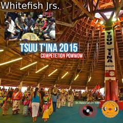 White Fish Jr. - Tsuu T'ina Powwow (Saturday Night Live)July 24-26, 2015.
