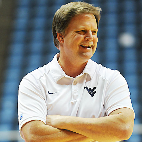 West Virginia coach Mike Carey   8-5-15 by WVUSports ...
