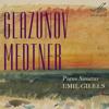 Emil Gilels - Glazunov: Piano Sonata No. 2, II. Scerzo, exerpt (1950)