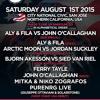 Arctic Moon Vs Jordan Suckley - Live @ FSOE 400, City National Civic (San Jose California, USA) - 01