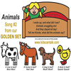Animals song by Kids Can Calk