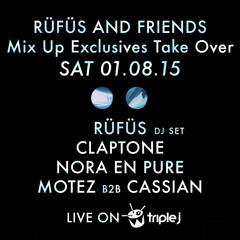 RÜFÜS & Friends triple j Mix Up Takeover 1-8-15