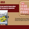 LP053 What you need to know when working for temporary agencies