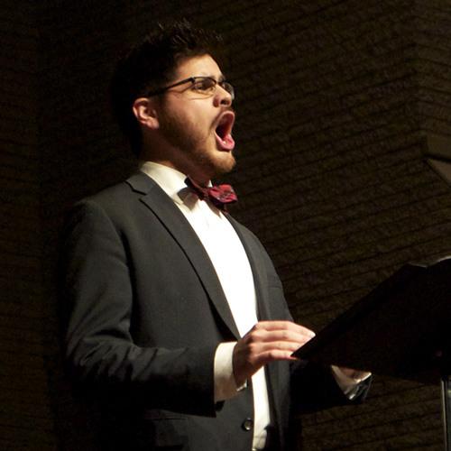 The John Hamm Performing Arts Series   Professor David Tahere