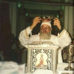 القداس الغوريغوري للمتنيح القس يسي رزق - قداس عيد العنصرة
