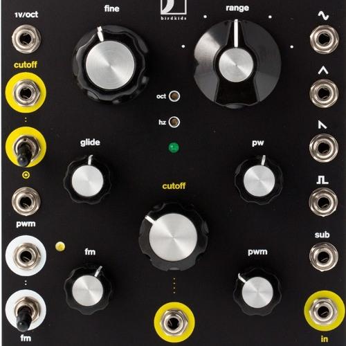 Birdkids Modular - The Bateleur VCO AUdio Demo [ beats & bassline ]