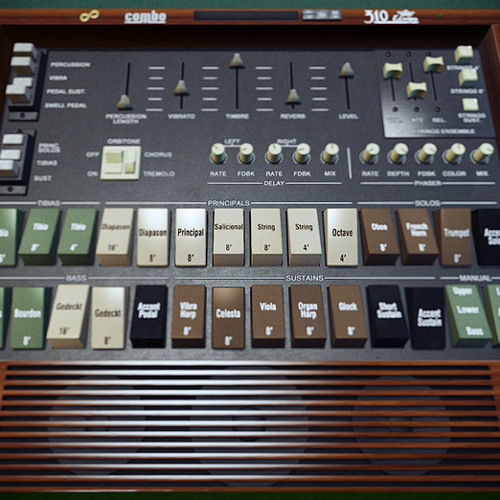 Combo 310 Unique Organ