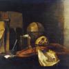 Vanitas: Still Life with a Violin