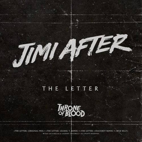 JIMI AFTER:THE LETTER(ORIGINAL MIX)