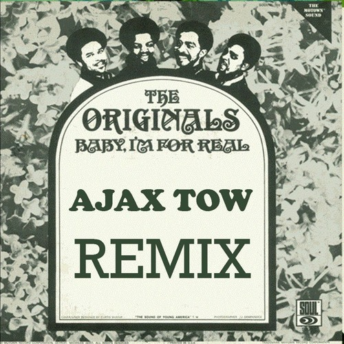 """The Originals """"Baby I'm For Real"""" Ajax Tow Cover"""