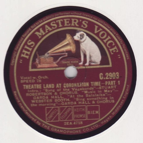 """""""Theatre Land at Coronation Time"""" Parts 1 & 2 1937"""