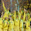 Who was breakdancing after Netball World Cup win?