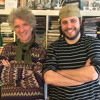 Dan Zanes (the Del Fuegos) with Bill Sherman (Sesame Street)