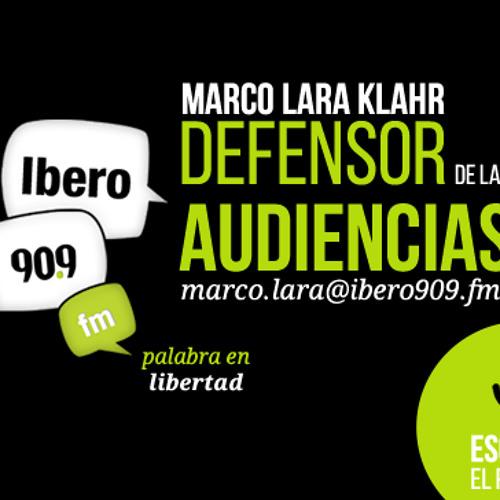 Marco Lara Klahr, defensor de las audiencias de Ibero 90.9