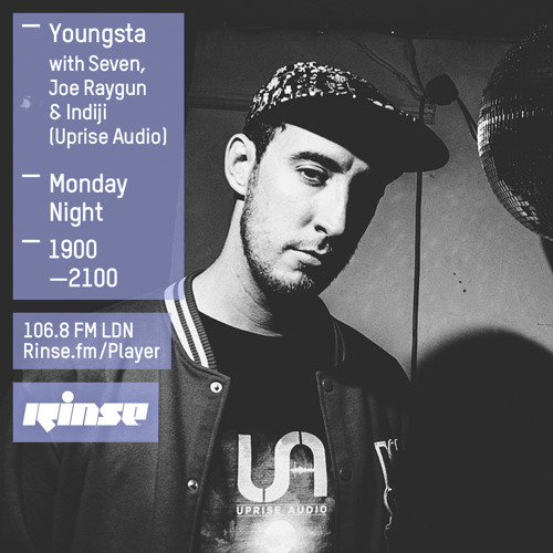 Rinse FM Podcast - Youngsta w/ Uprise Audio - 17th August 2015
