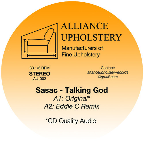 PREMIERE : Sasac - Talking God (Eddie C Remix)