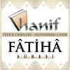 Fatiha suresi Tefsir dersleri - Muharrem Çakır