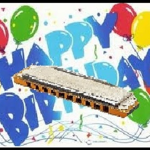 happy birthday harmonica