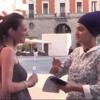Signorina Italiana Contenta  Di Conoscere Il Sikhismo. Italian Lady Happy To Learn  About Sikhi