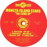 Monsts Island Czars It's About Time Artwork
