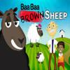 """Baa baa """"brown"""" sheep (Nursery rhyme) with lyrics"""