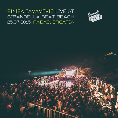 Sinisa Tamamovic Live At Girandella Beat Beach - Rabac - Croatia - 25 - 07 - 2015