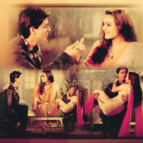 Aaya tere dar par song | part-2 | veer-zaara | shah rukh khan.
