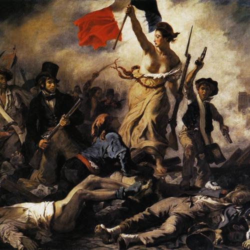 I - La Liberté Guidant Le Peuple [art by Eugène Delacroix]