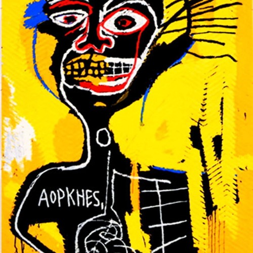 III - Cabeza [art by Jean-Michel Basquiat]