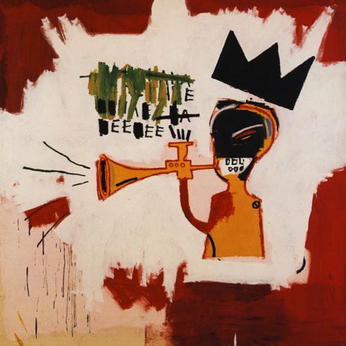IV - Trumpet [art by Jean-Michel Basquiat]