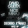 Deorro & MAKJ Vs David Guetta, Nicki Minaj & Afrojack - Ante Mama Up (Bam Alencar Mashup) Portada del disco