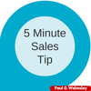 5 Minute Sales Tip: How To Ask For A Credit Card Number.