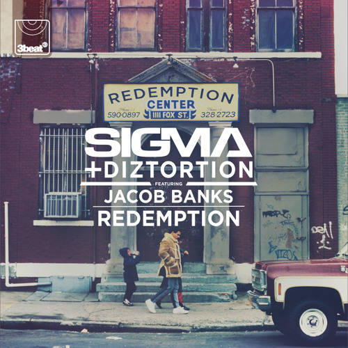 Sigma and Diztortion featuring Jacob Banks — Redemption (studio acapella)
