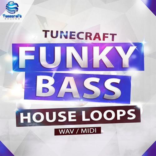 Tunecraft Funky Bass House Loops / 245 Wav loops + 40 midi files